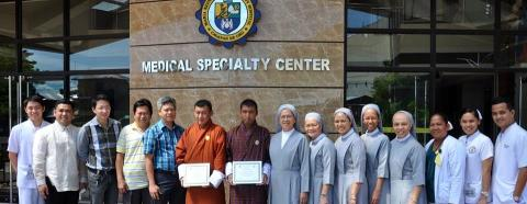 Philippines | Hospital Provides Waste Management Training to Bhutanese Engineers