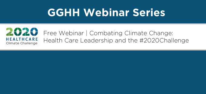 Missed the GGHH webinar on the #2020Challenge