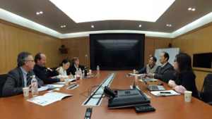 Meeting with China National Health Development Research Center, Nov 2015, China