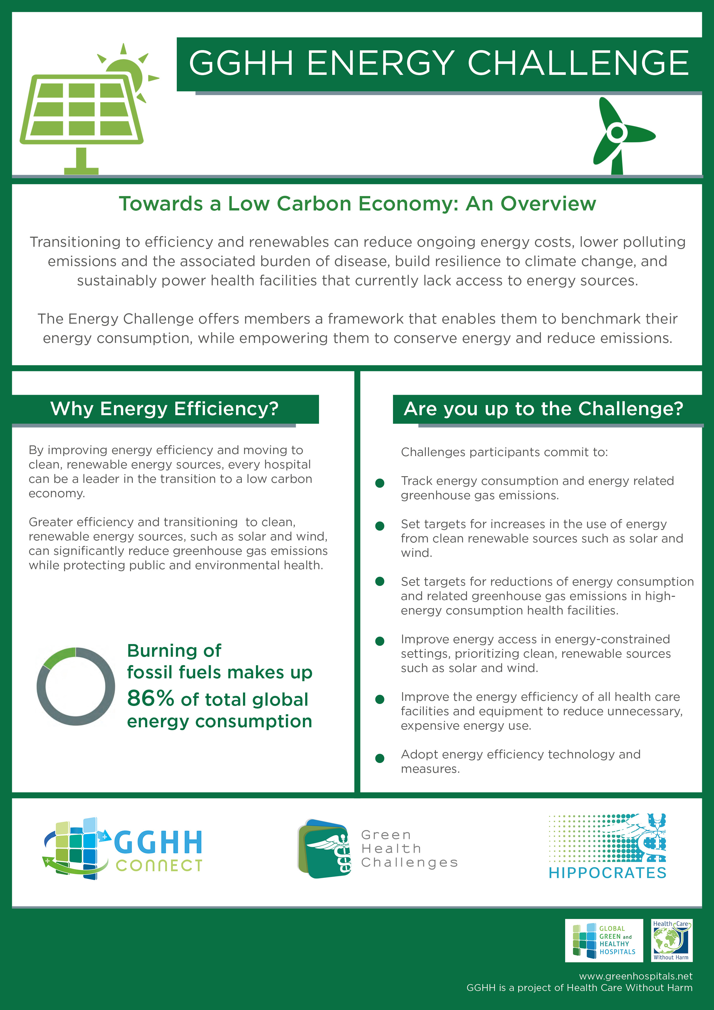 About the Energy Challenge | Global Green and Healthy Hospitals